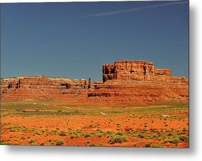 Valley Of The Gods - See What The Gods See Metal Print by Christine Till