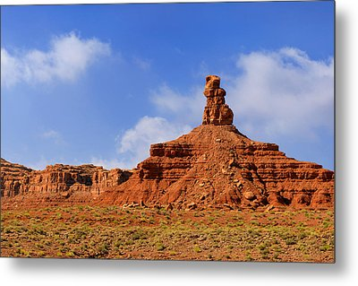Valley Of The Gods Utah Metal Print by Christine Till