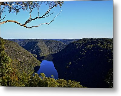 Valley View Metal Print