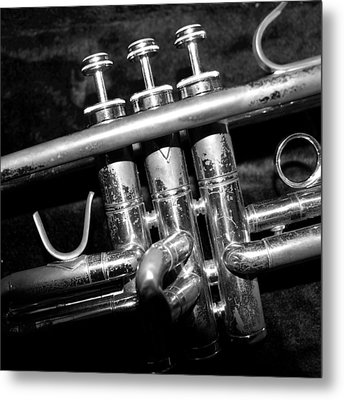 Valves Metal Print by Photographic Arts And Design Studio