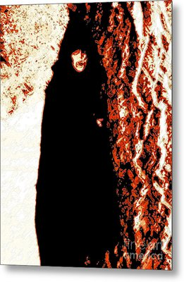 Vampire Red  Metal Print by First Star Art
