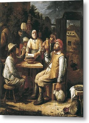 Van Craesbeeck, Joos 1606-1654. The Metal Print by Everett