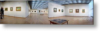 Van Gogh Museum Metal Print by Michael Edwards