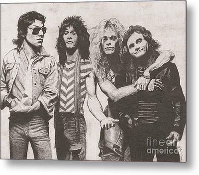 Van Halen Metal Print by Jeff Ridlen