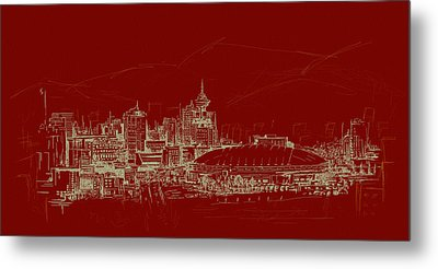 Vancouver Art 007 Metal Print by Catf