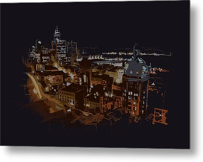 Vancouver Art 009 Metal Print by Catf