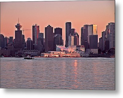 Vancouver Bc Metal Print by Brian Chase