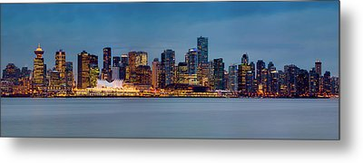 Vancouver From Lonsdale Quay Metal Print by Alexis Birkill