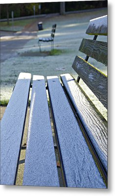 Vancouver Frosty Morning Metal Print by Marilyn Wilson