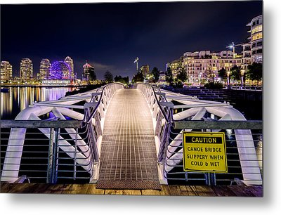 Vancouver Olympic Village Metal Print by Alexis Birkill