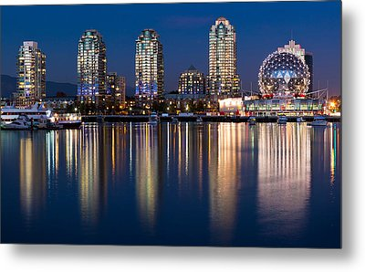 Vancouver Postcard Metal Print by Alexis Birkill