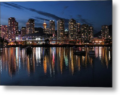 Vancouver Skyline Metal Print by Brian Chase
