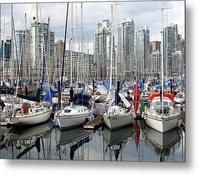 Vancouver Skyline Metal Print by Gerry Bates