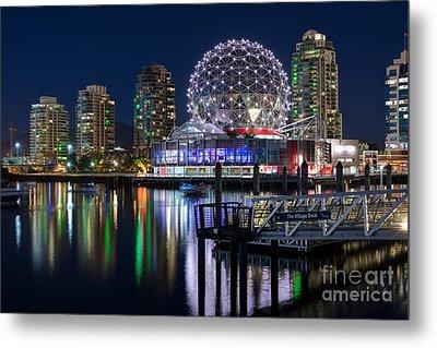 Vancouver Telus World Of Science - By Sabine Edrissi Metal Print by Sabine Edrissi