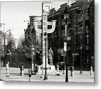 Metal Print featuring the photograph Vancouver's Chinatown by Cendrine Marrouat