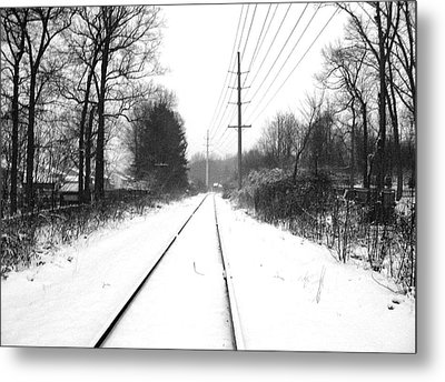 Vanishing Point. Metal Print by Chris  Kusik