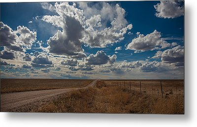 Metal Print featuring the photograph Days Of Our Lives In Kansas by Shirley Heier