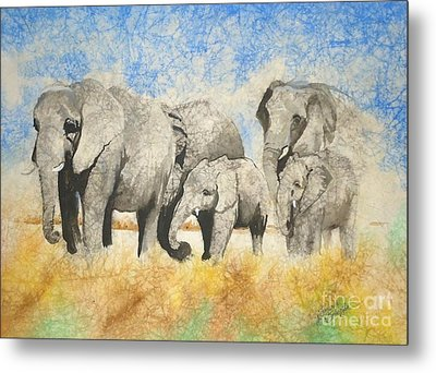 Vanishing Thunder Series - The Family  Metal Print by Suzanne Schaefer