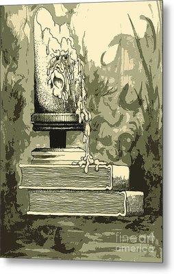 Bougie Metal Print by Julio Lopez