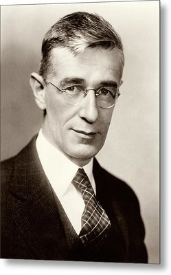 Vannevar Bush Metal Print by American Philosophical Society