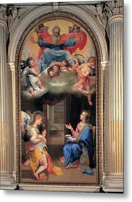 Vanni Francesco, Annunciation, 16th Metal Print by Everett