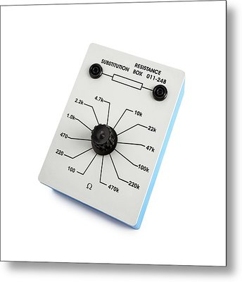 Variable Resistance Box Metal Print by Science Photo Library