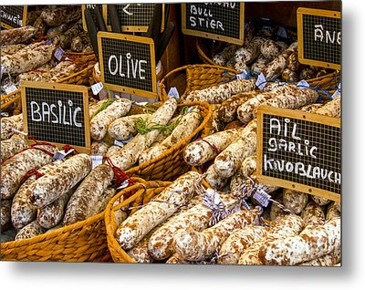 Variety Of Flavors Metal Print by Bob Phillips