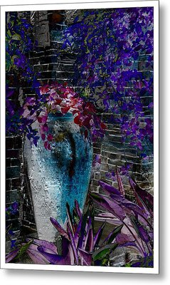Vase Metal Print by Athala Carole Bruckner