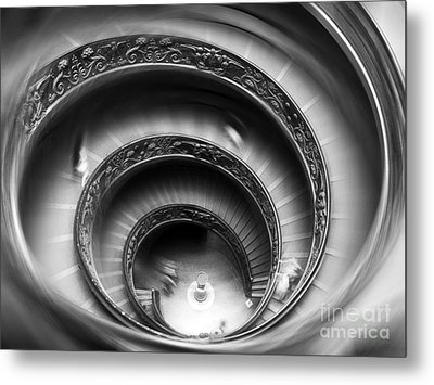 Vatican Stairs Metal Print by Sandro Rossi