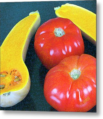 Veggies And Colors Metal Print by Ben and Raisa Gertsberg