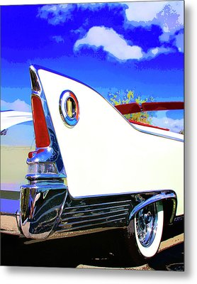 Vehicle Launch Palm Springs Metal Print by William Dey