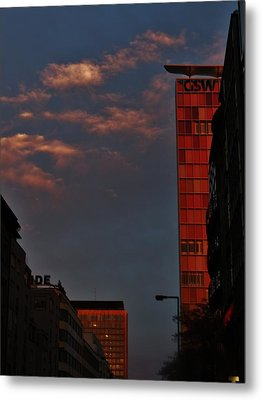 Velvet Clouds Metal Print by Sharon Costa