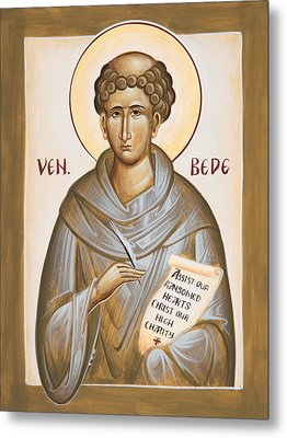 Venerable Bede Metal Print