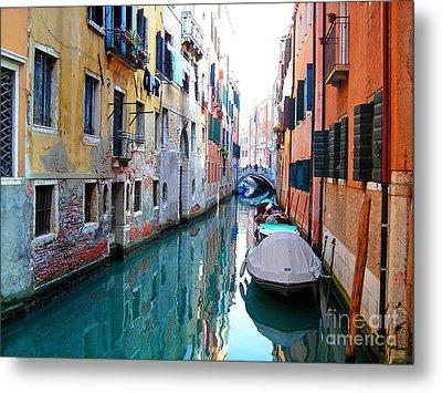 Venetian Calm Metal Print