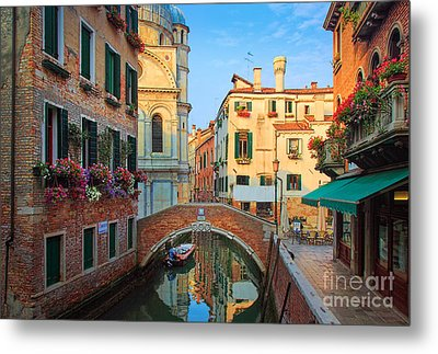 Venetian Paradise Metal Print by Inge Johnsson