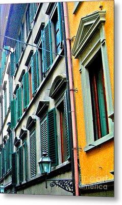 Venetian Shutters Metal Print