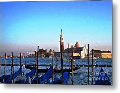 Venezia City Of Islands Metal Print by Phillip Allen