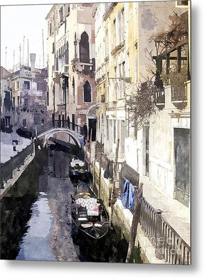 Venice 1 Metal Print by Julie Woodhouse