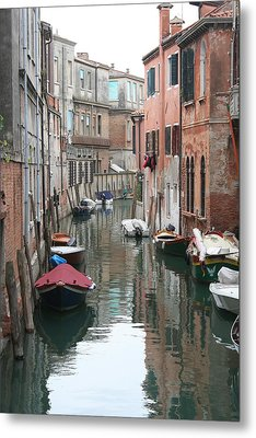 Venice Backstreets Metal Print
