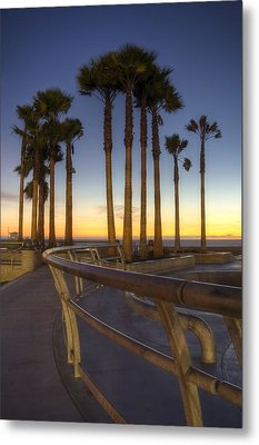 Metal Print featuring the photograph Venice Beach by Brent Durken