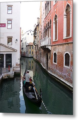 Venice Canal   Metal Print by Irina Sztukowski