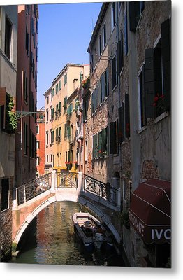 Metal Print featuring the photograph Venice by Dany Lison