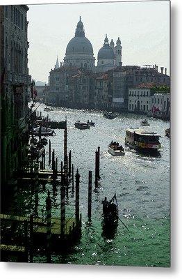 Venice Grand Canale Italy Summer Metal Print by Irina Sztukowski