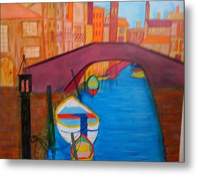 Venice Metal Print by Judi Goodwin