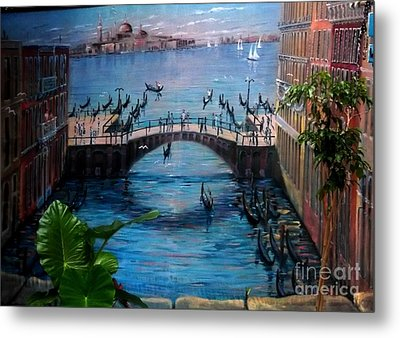 Venice Metal Print by Kelly Awad