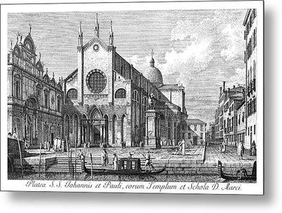 Venice Monument, 1735 Metal Print