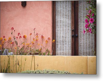 Metal Print featuring the photograph Venice Pink by Kevin Bergen