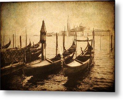 Venice Postcard Metal Print by Jessica Jenney