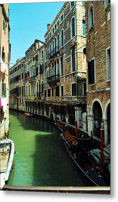 Venice River Metal Print