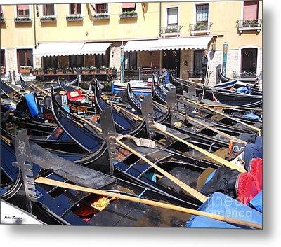 Venice Series 2 Metal Print by Ramona Matei
